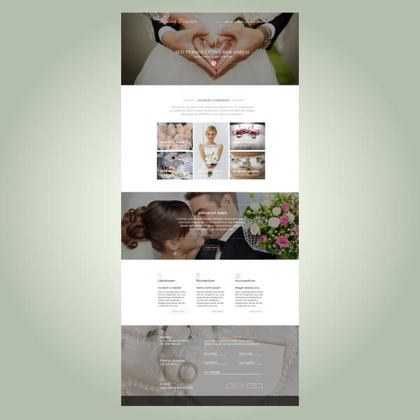 strona www wedding plannera